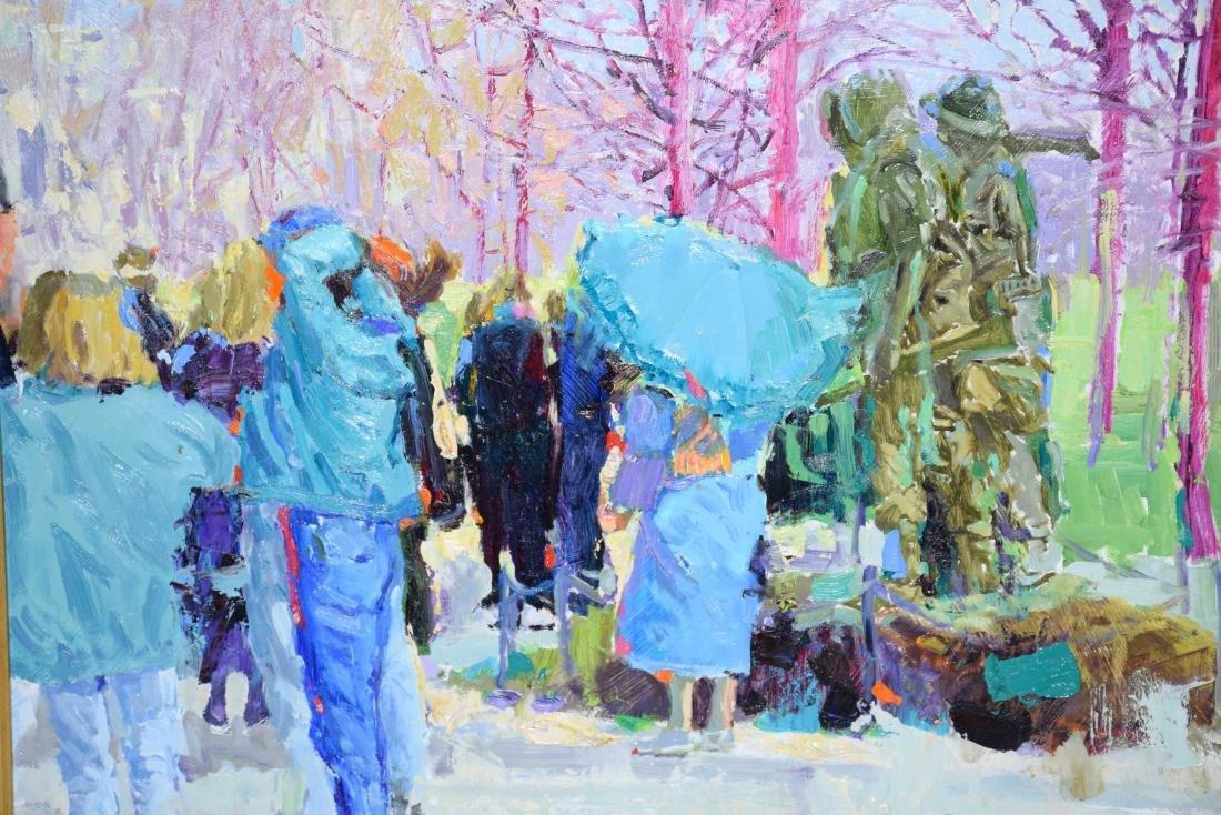 ACRYLIC ON BOARD BY JERRY JORDAN, titled ''Vietnam - 2