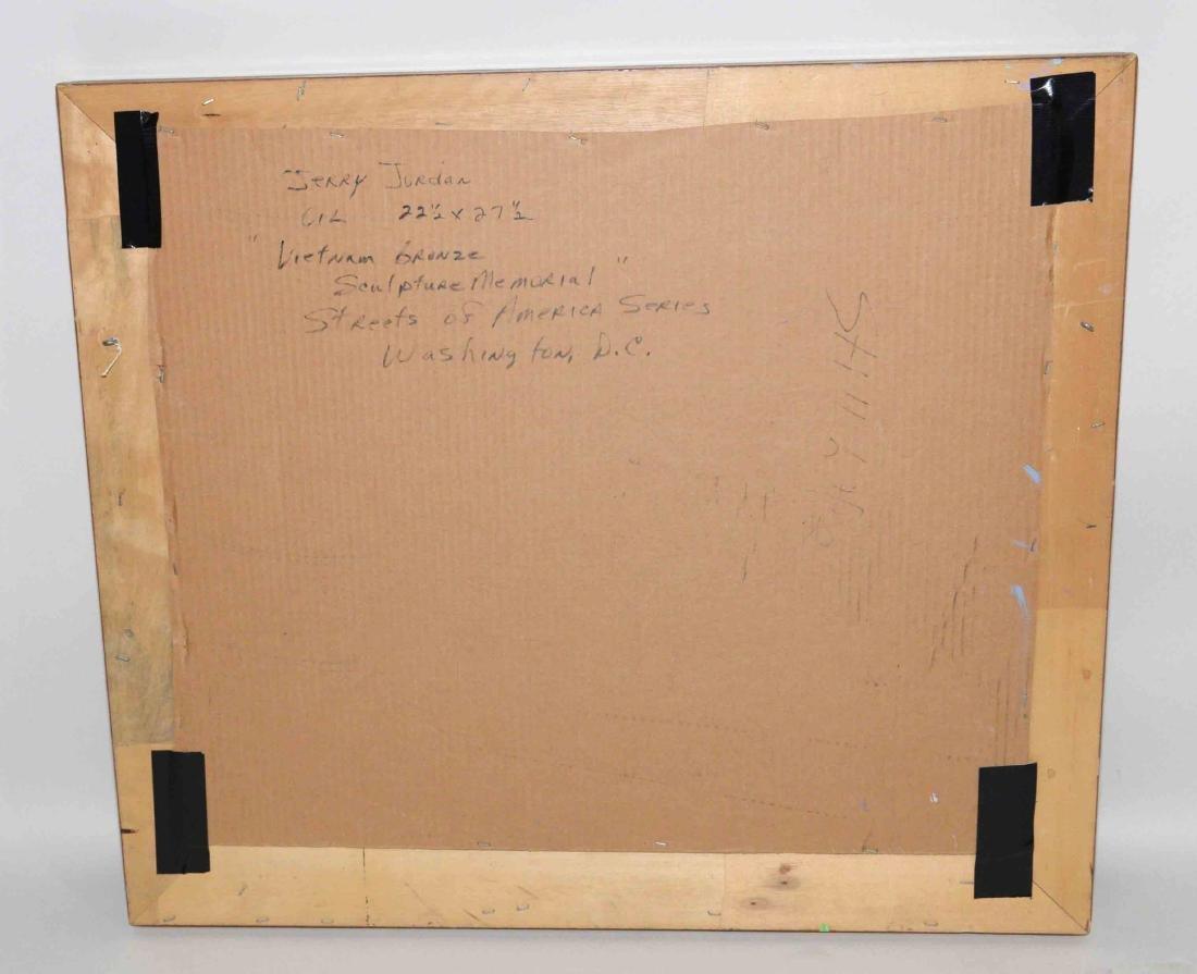 ACRYLIC ON BOARD BY JERRY JORDAN, titled ''Vietnam - 4