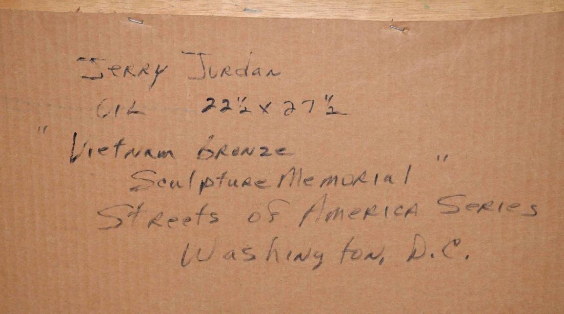 ACRYLIC ON BOARD BY JERRY JORDAN, titled ''Vietnam - 5