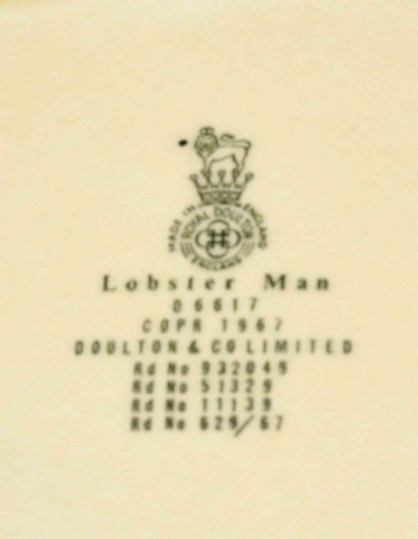 (5) ROYAL DOULTON MUGS - including ''Trapper'', Lobster - 6