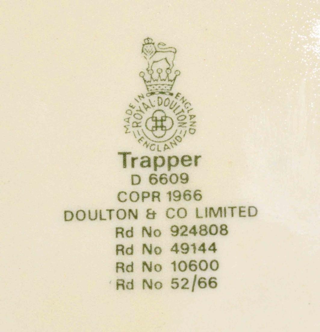 (5) ROYAL DOULTON MUGS - including ''Trapper'', Lobster - 7