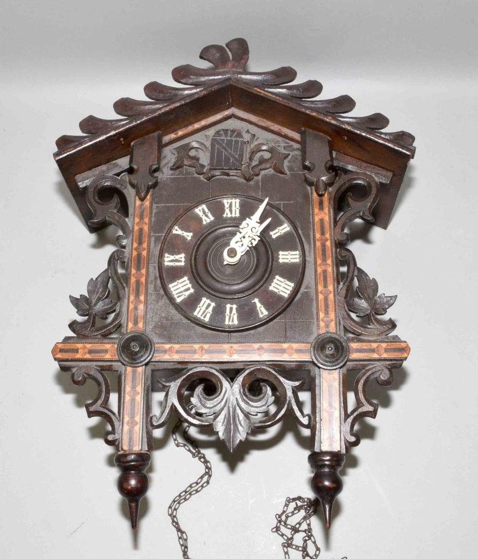 POST-WAR GERMAN  BLACK FOREST ''CUCKOO'' CLOCK with