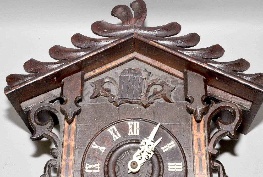 POST-WAR GERMAN  BLACK FOREST ''CUCKOO'' CLOCK with - 2