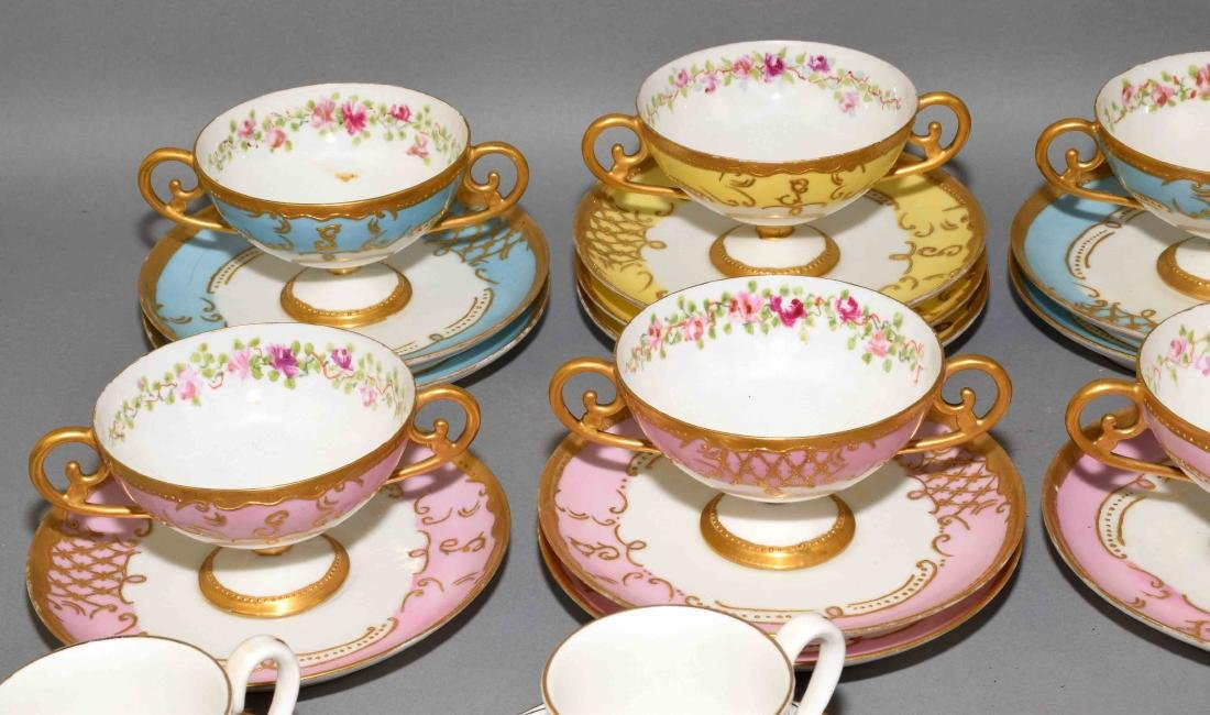 33pcs ASSORTED CUP AND SAUCER SETS - Includes: (1) - 2
