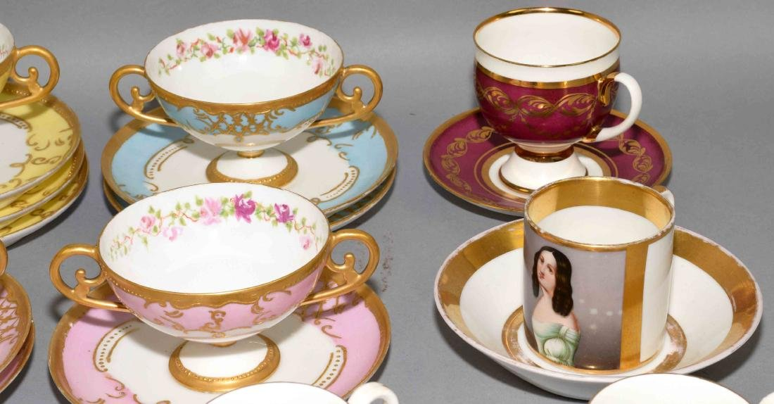 33pcs ASSORTED CUP AND SAUCER SETS - Includes: (1) - 3