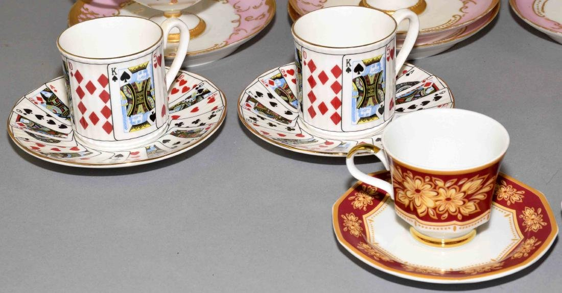 33pcs ASSORTED CUP AND SAUCER SETS - Includes: (1) - 4