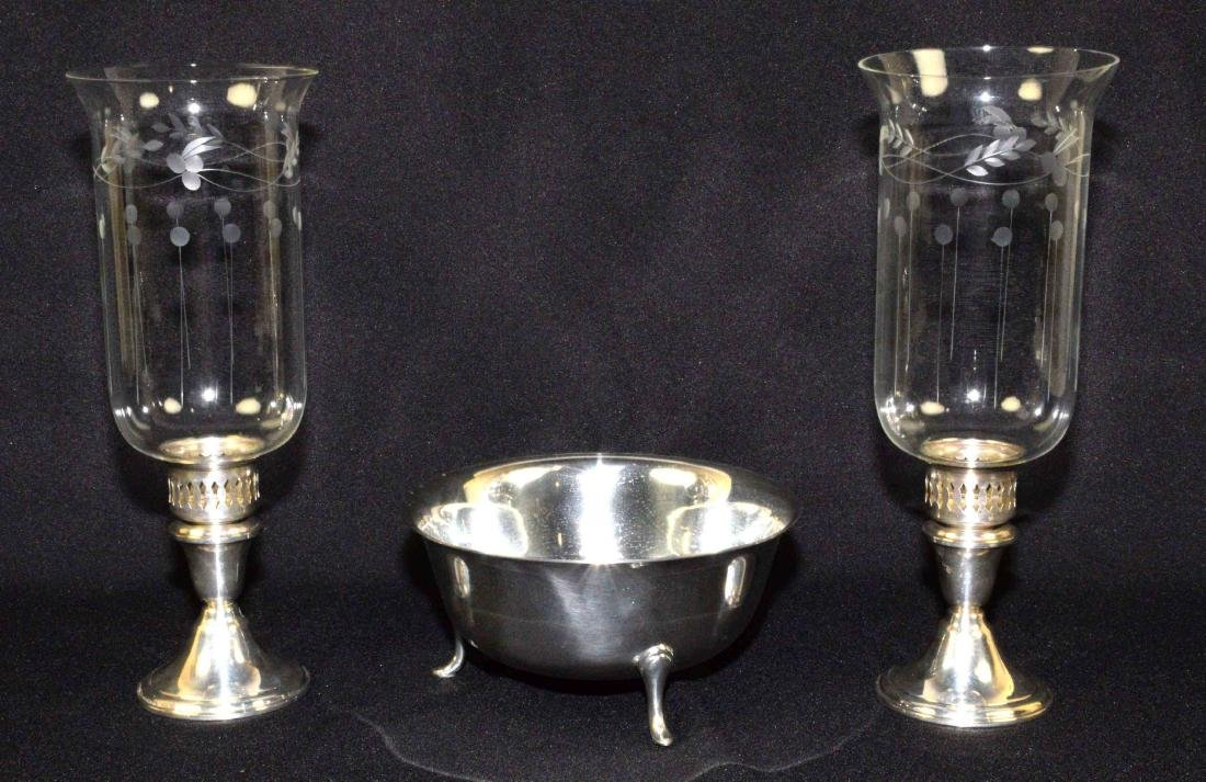 A GROUP CONSISTING OF A PAIR OF NEWPORT STERLING