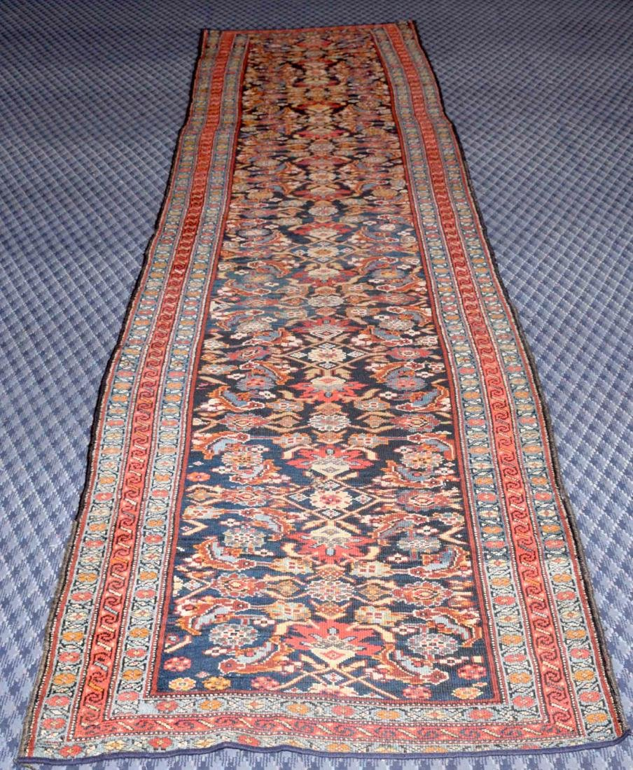 KURDISH RUNNER RUG. West Persia, circa 1900. The