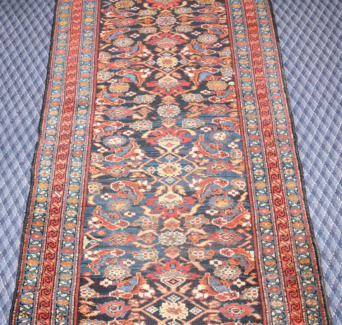 KURDISH RUNNER RUG. West Persia, circa 1900. The - 3