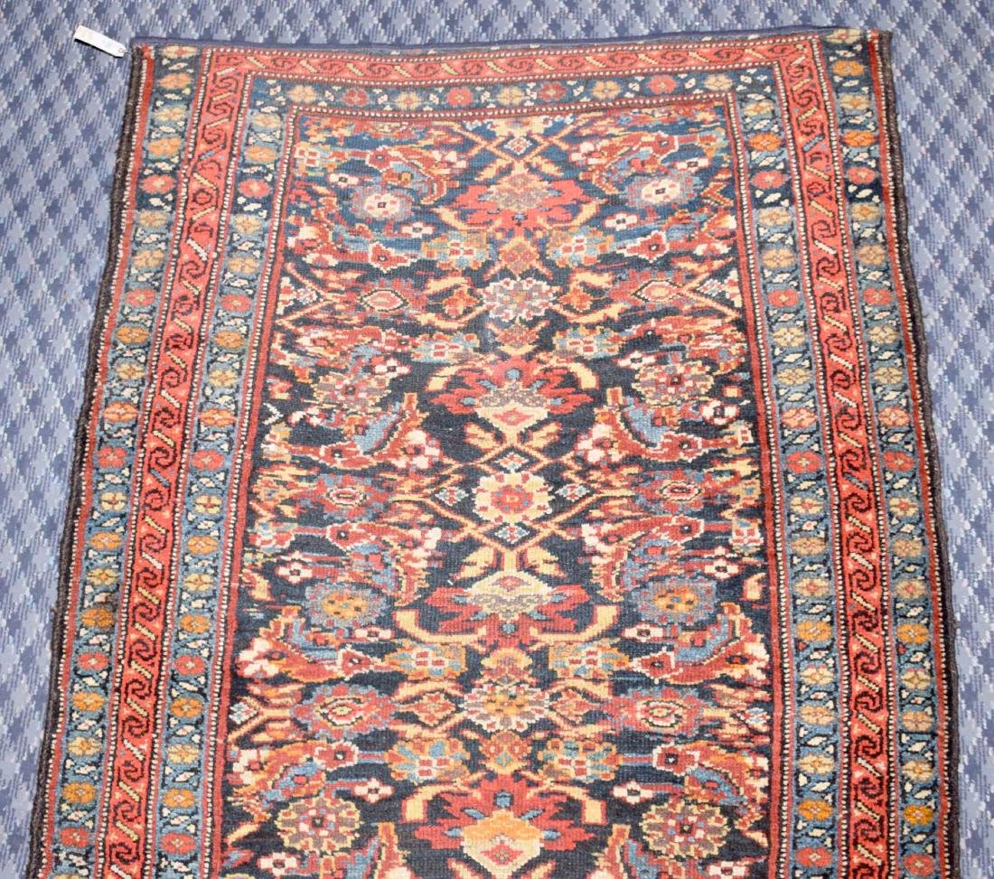 KURDISH RUNNER RUG. West Persia, circa 1900. The - 4