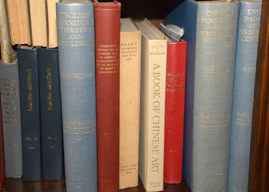 A LARGE COLLECTION OF ART AND ANTIQUE BOOKS. - 7