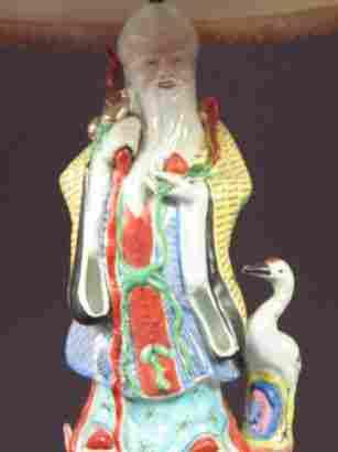 SHOU LOU FIGURAL LAMP