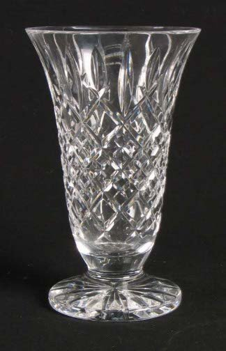 1572: WATERFORD CUT GLASS VASE. Waterford cut glass vas