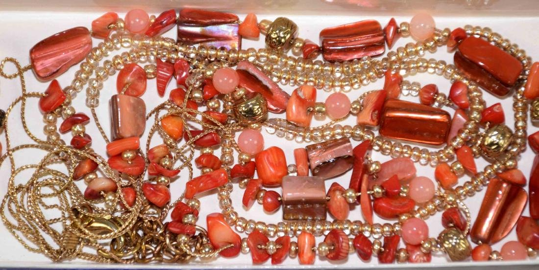 (10) PCS. ASST. CORAL, TURQUOISE, CRYSTAL AND OTHER - 4