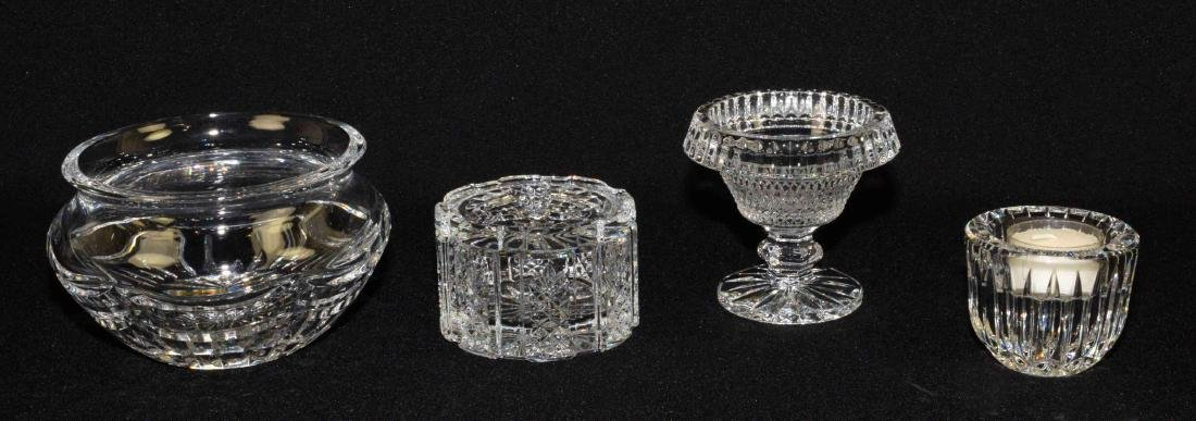 (4) WATERFORD SEAHORSE CRYSTAL PIECES: mini-FTD