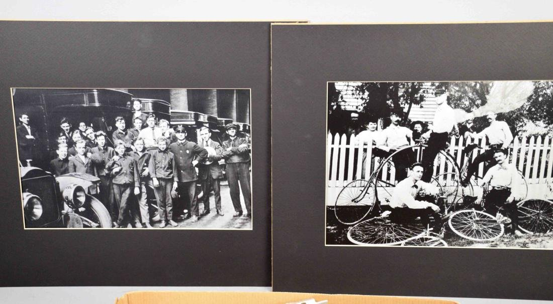 LARGE COLLECTION OF OLD PHOTOGRAPHS, largest 9.5''H x - 2