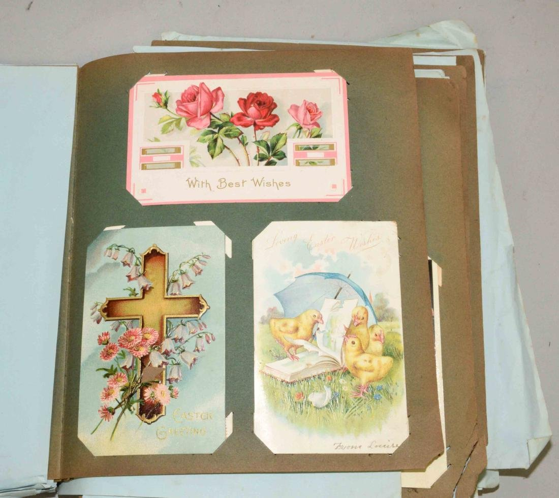 COLLECTION OF POSTCARDS, including Thanksgiving, - 3