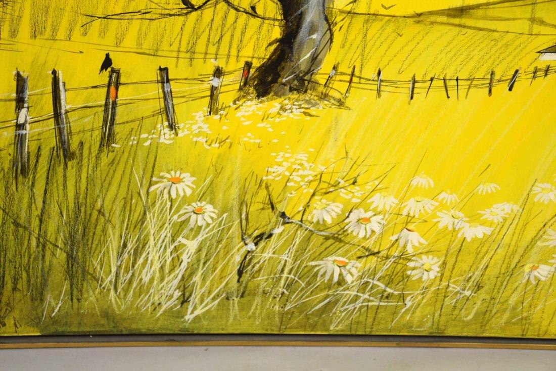 MCCANE ACRYLIC ON CANVAS, The Birds. 40''H x 40''W. - 3