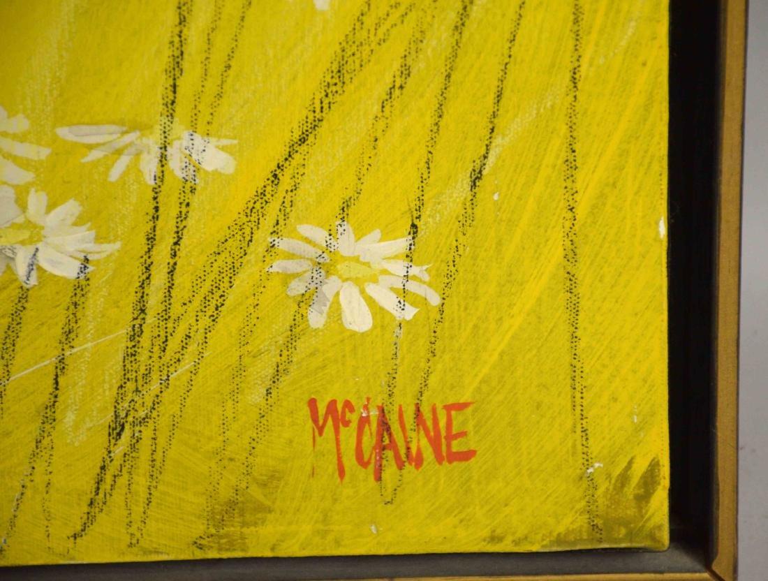 MCCANE ACRYLIC ON CANVAS, The Birds. 40''H x 40''W. - 4