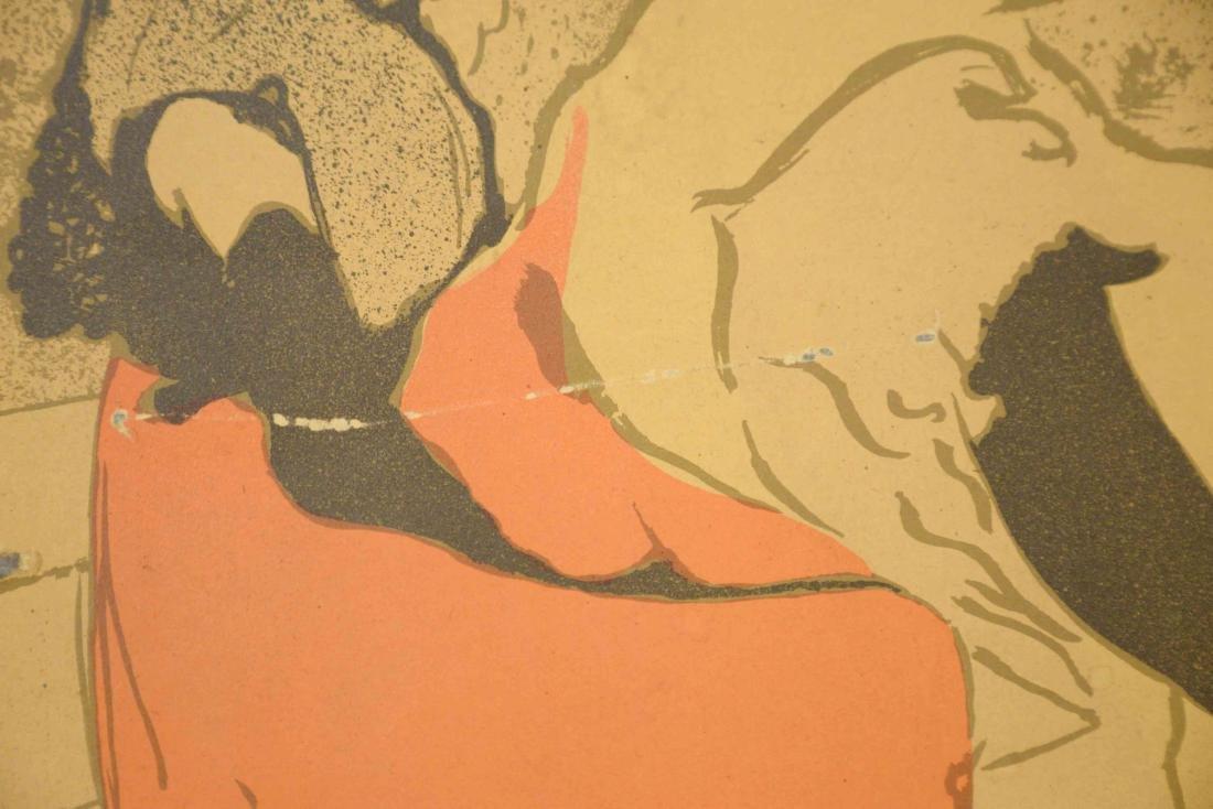 LAUTREC POSTER JANE AVRIL. 30''H x 24''W. - 4