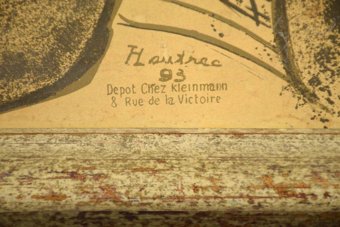 LAUTREC POSTER JANE AVRIL. 30''H x 24''W. - 6
