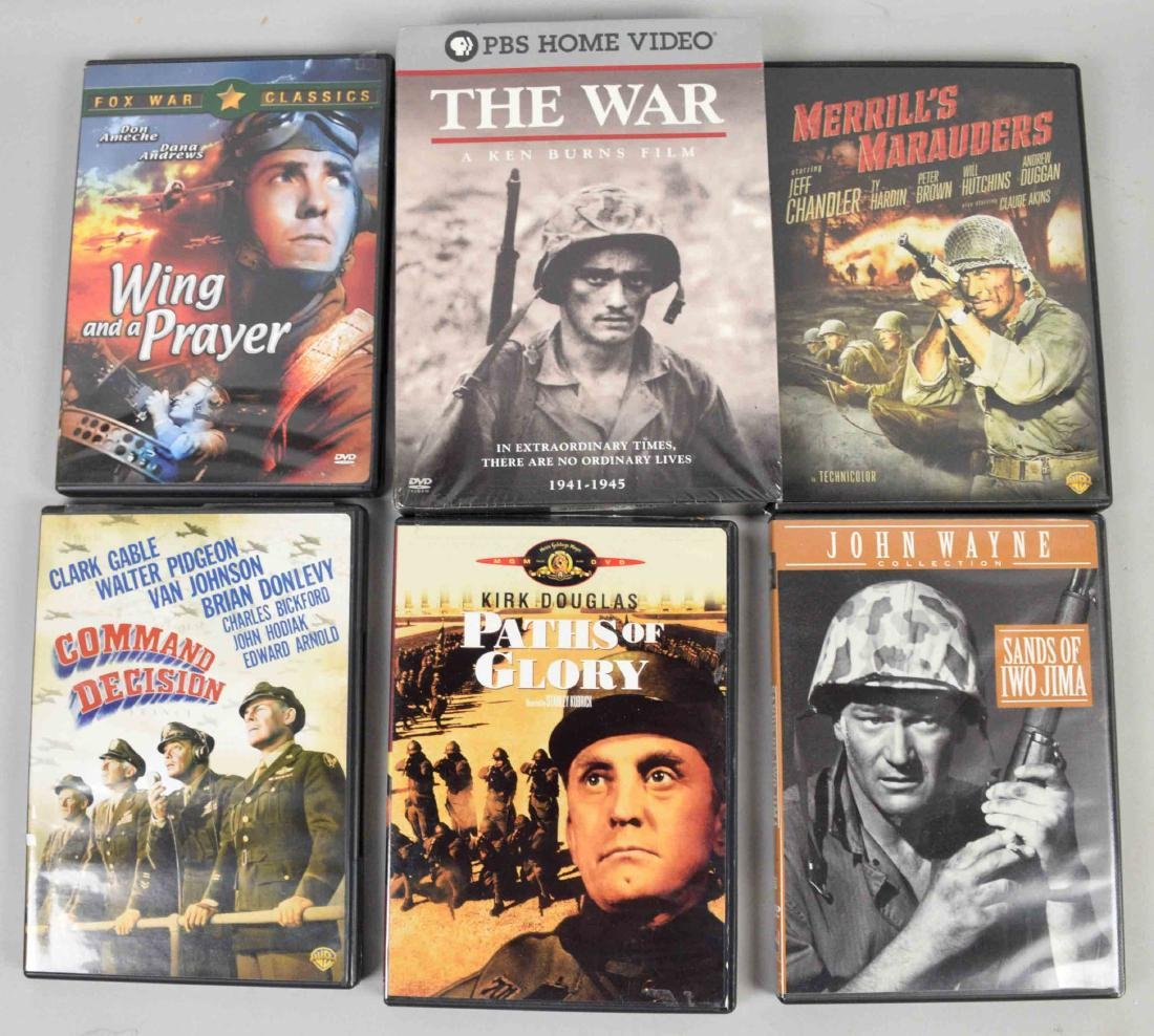 DVD COLLECTION OF WORLD WAR II, includes The War by Ken