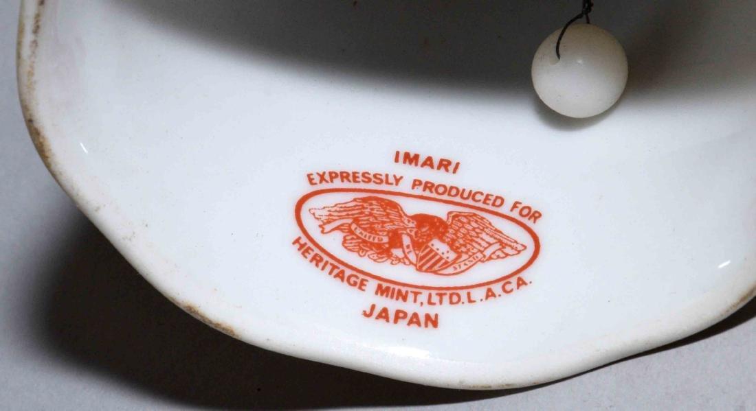 (2) JAPANESE IMAN PORCELAIN PIECES;  Vase, Heritage - 4