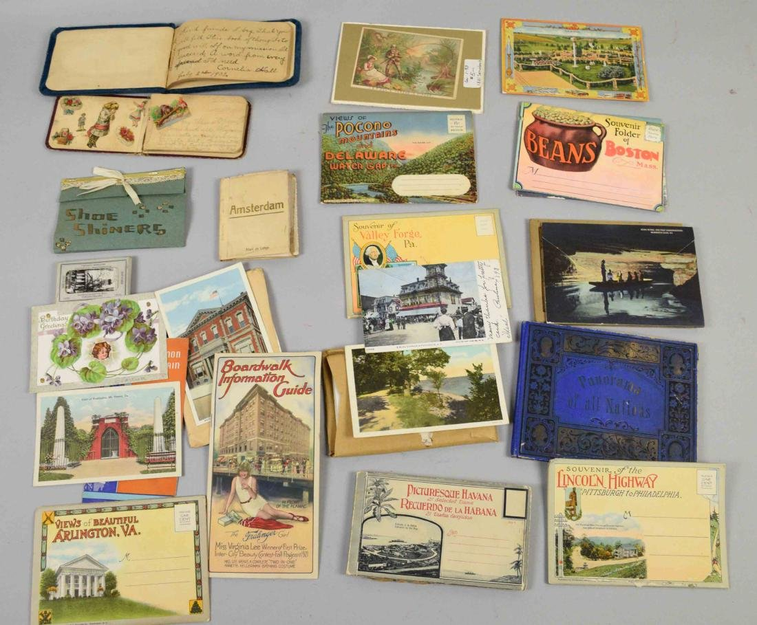COLLECTION OF ASSORTED VINTAGE POSTAL CARD EPHEMORA - 5
