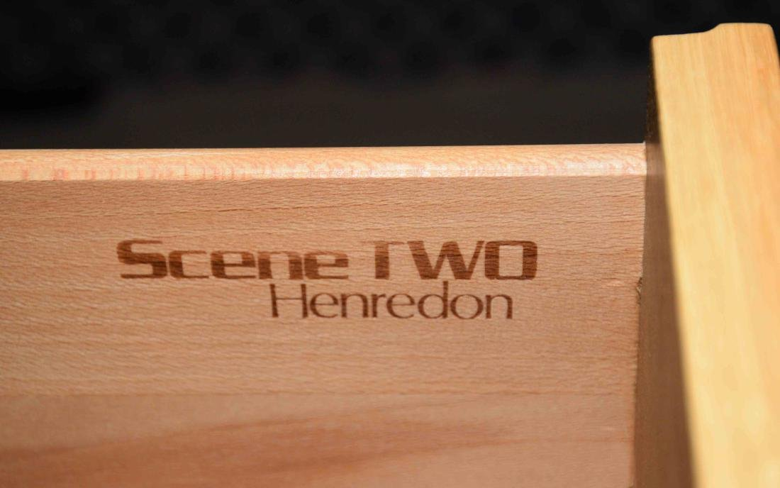 PAIR OF HENREDON SCENE TWO NIGHTSTANDS. 22''H x 27''W x - 2