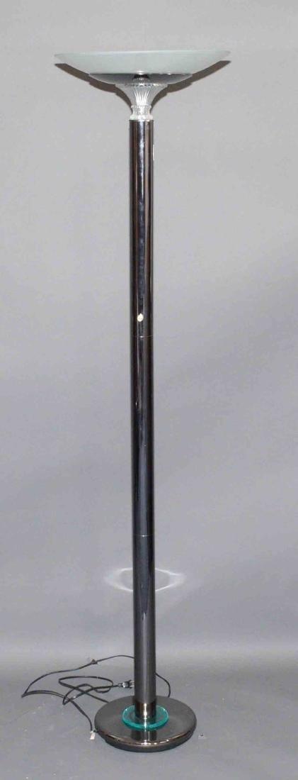 FLOOR LAMP, halogen. 71.5''H.
