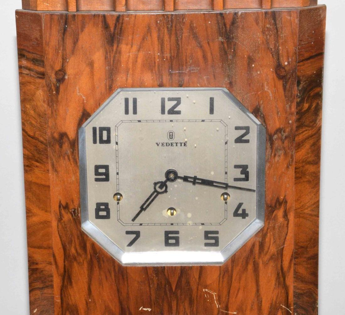 VEDETTE ART DECO REGULATOR CLOCK. 27''H x 12.5''W x - 2