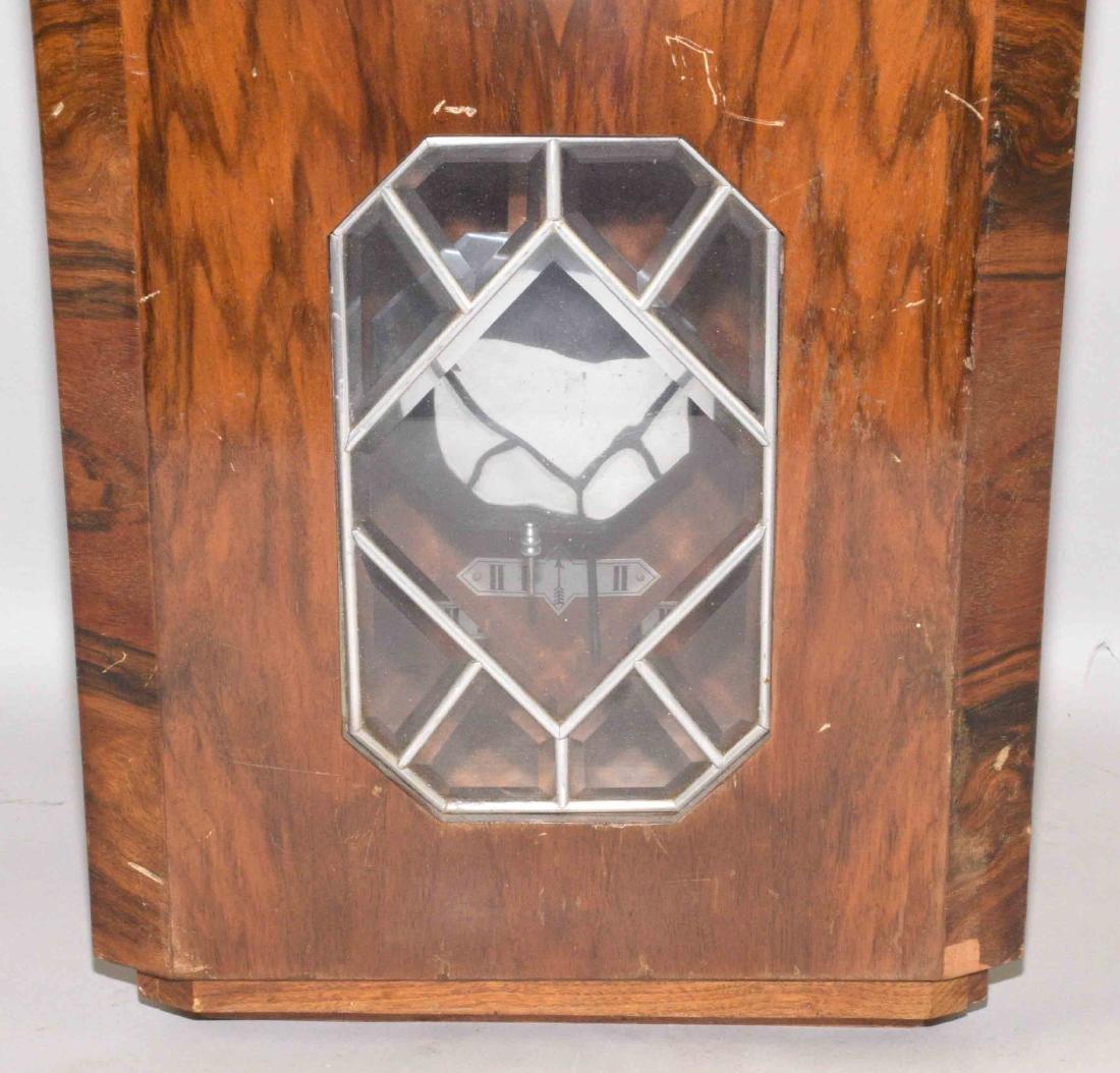 VEDETTE ART DECO REGULATOR CLOCK. 27''H x 12.5''W x - 3