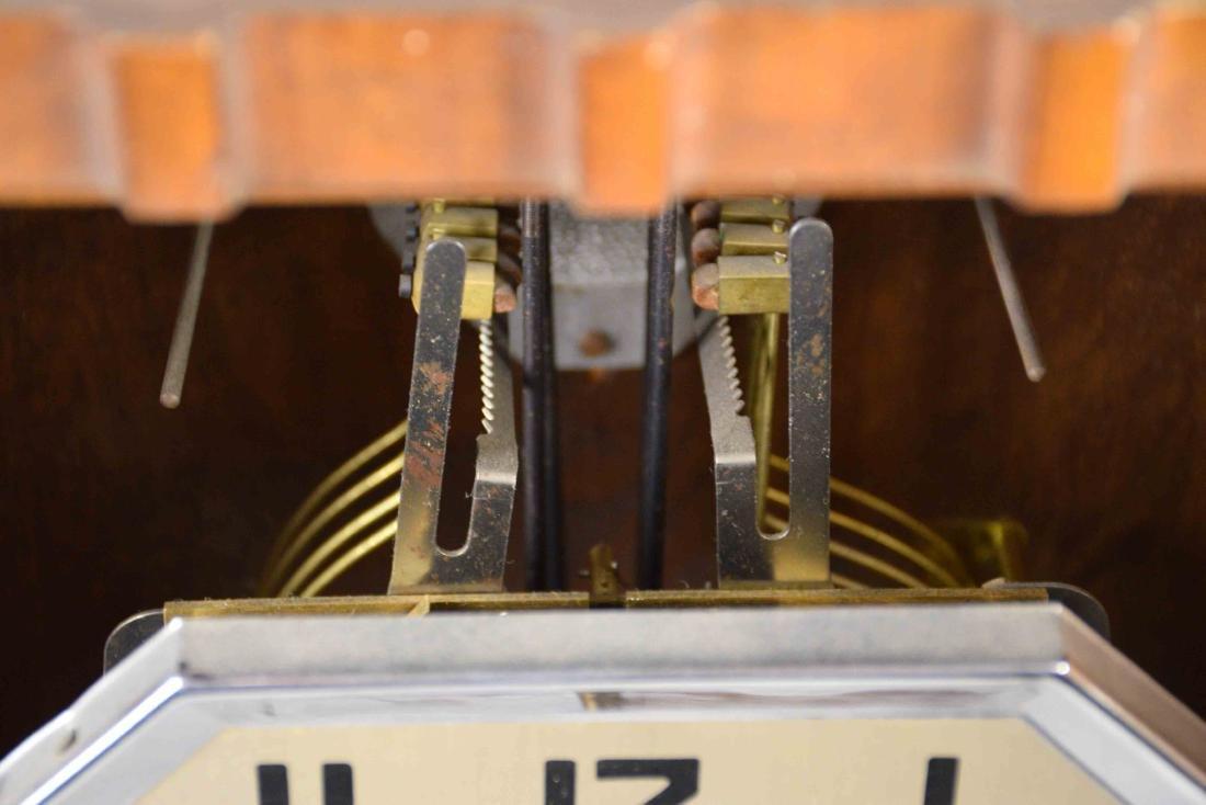 VEDETTE ART DECO REGULATOR CLOCK. 27''H x 12.5''W x - 6