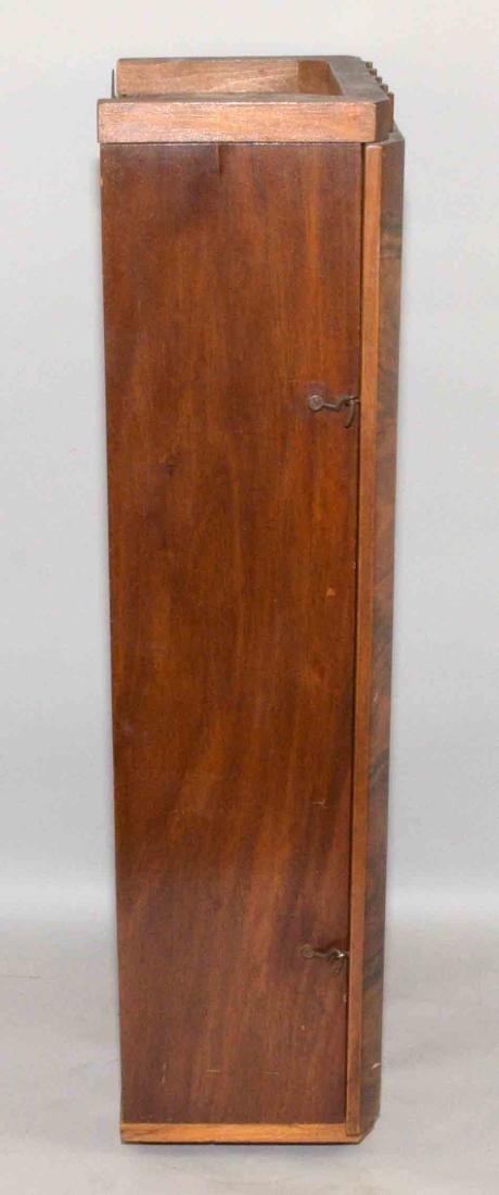 VEDETTE ART DECO REGULATOR CLOCK. 27''H x 12.5''W x - 8