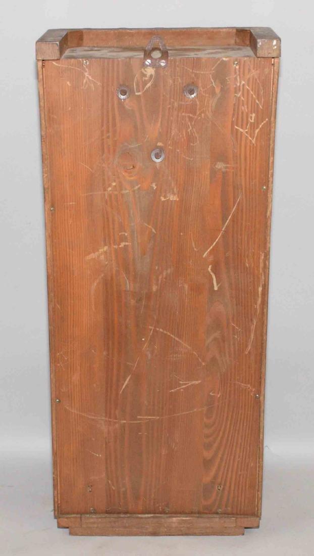 VEDETTE ART DECO REGULATOR CLOCK. 27''H x 12.5''W x - 9