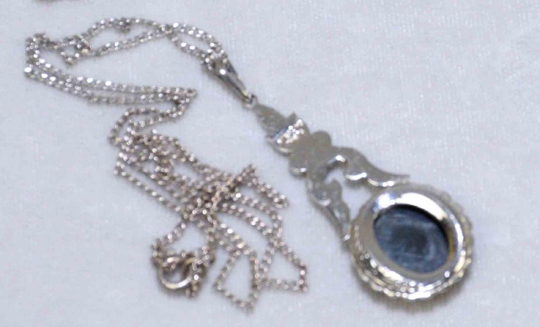 OVER (15) MISC. LADIES STERLING JEWELRY. Includes: - 5
