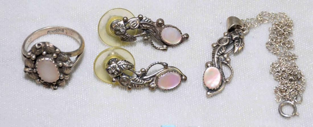 OVER (15) PCS. ASST. LADIES STERLING, MOTHER OF PEARL - 5