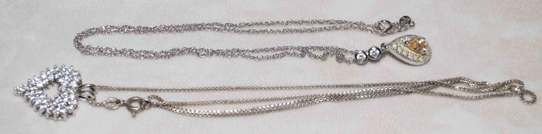 (11) PCS. ASST. LADIES STERLING AND CUBIC ZIRCONIA - 3