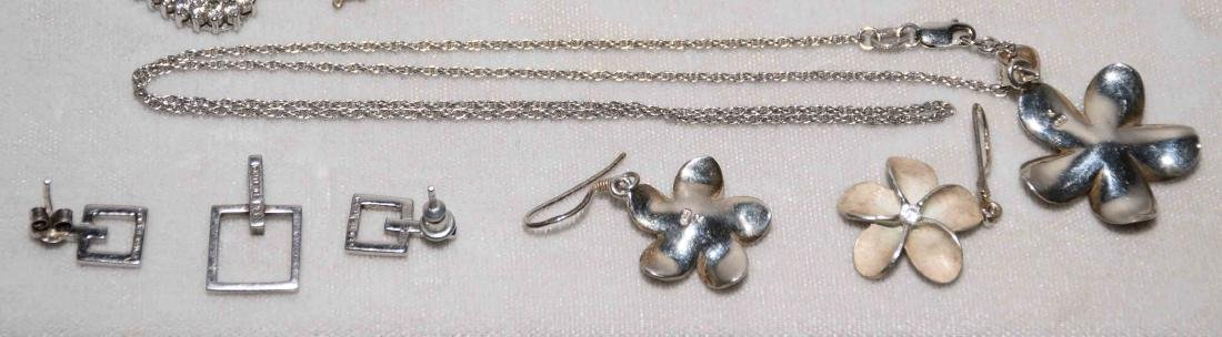 (11) PCS. ASST. LADIES STERLING AND CUBIC ZIRCONIA - 5