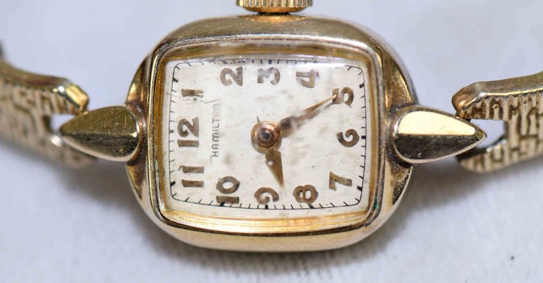 (3) VINTAGE LADIES WRISTWATCHES in 10KG fill and - 3