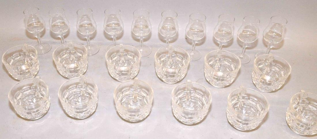 COLLECTION OF GLASSES.