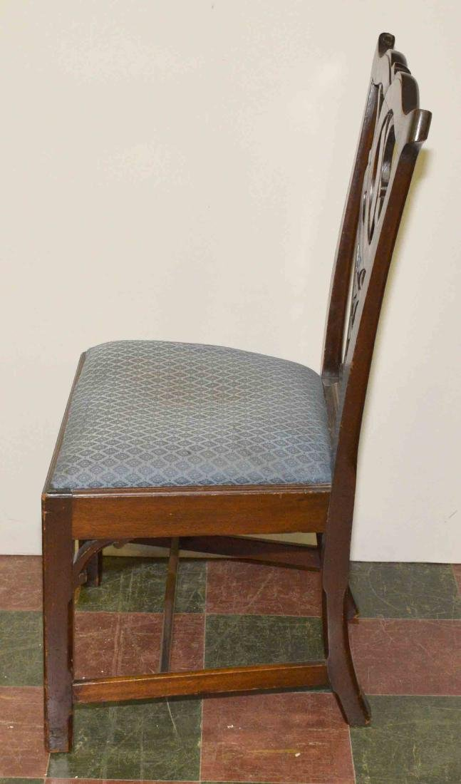 PAIR OF CHAIRS. 39''H x 21''W x 17''D. - 2