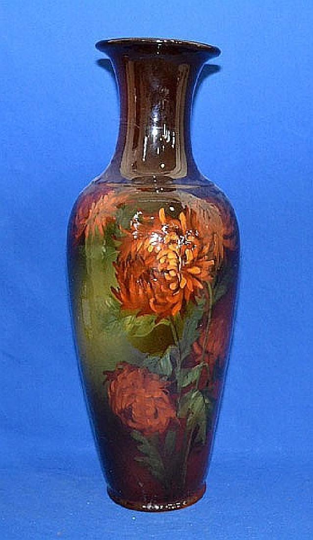 WELLER LOUWELSA VASE - Weller American art pottery