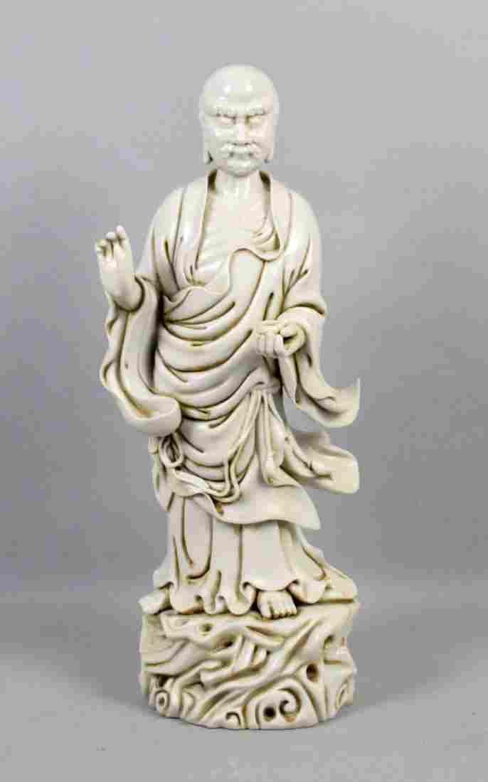 CHINESE BLANC DE CHINE ARHAT. Blanc de chine porcelain