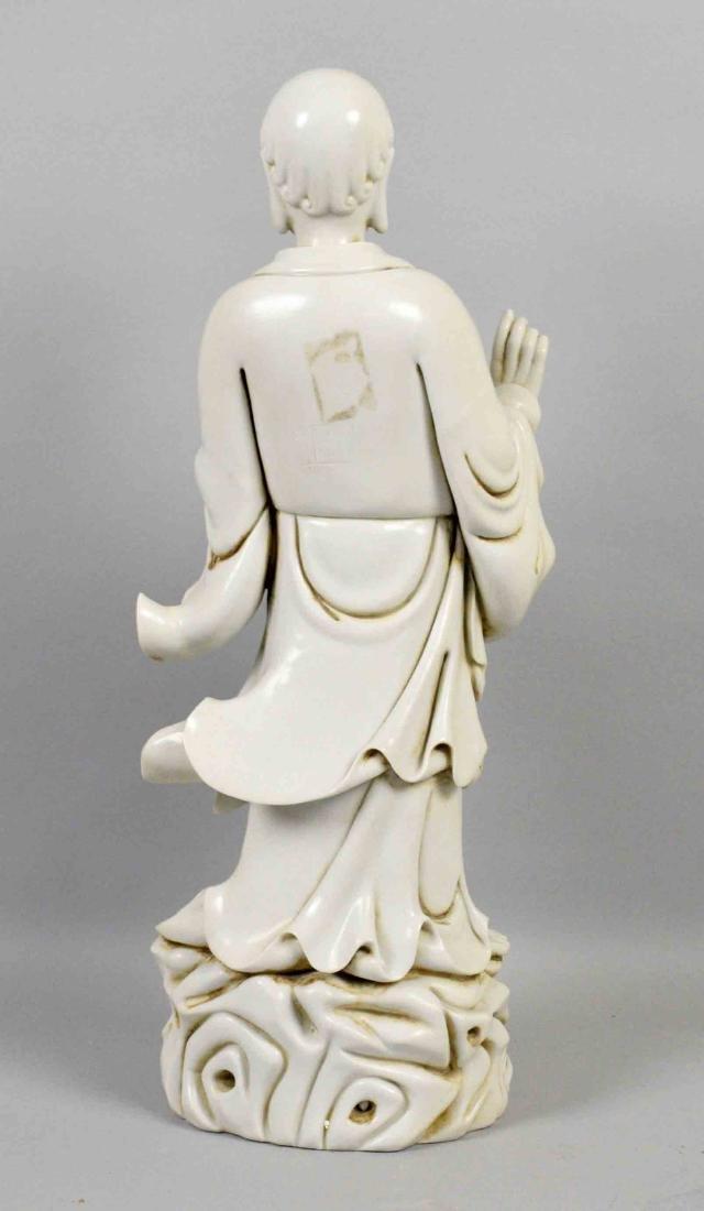 CHINESE BLANC DE CHINE ARHAT. Blanc de chine porcelain - 3