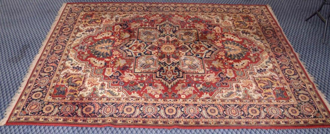 LARGE GREEK KILIM RUG, machine made. 10'10''H x