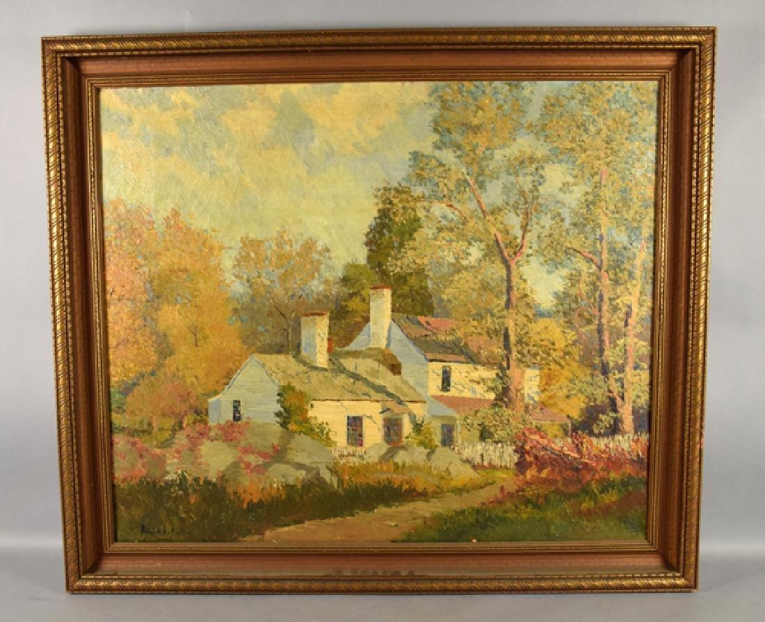 ROBERT E MOTLEY (AMERICAN, 1887-1962) - Country House,