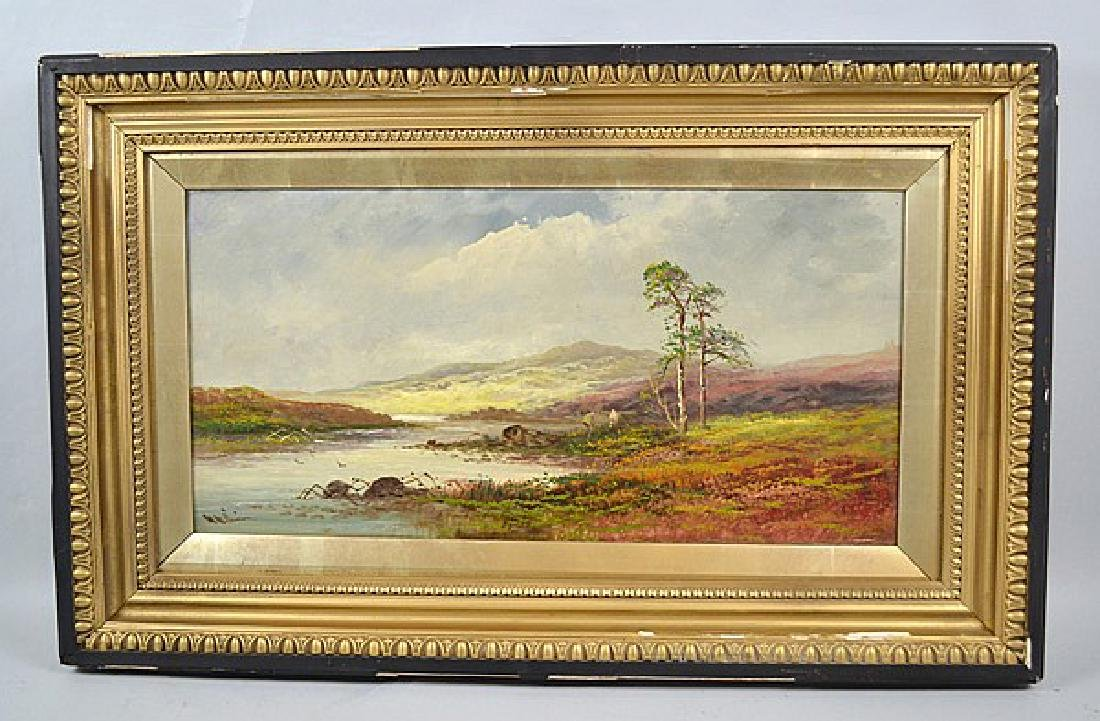 WILLIAM WILLIAMS (BRITISH 1808-1895) - A river scene,