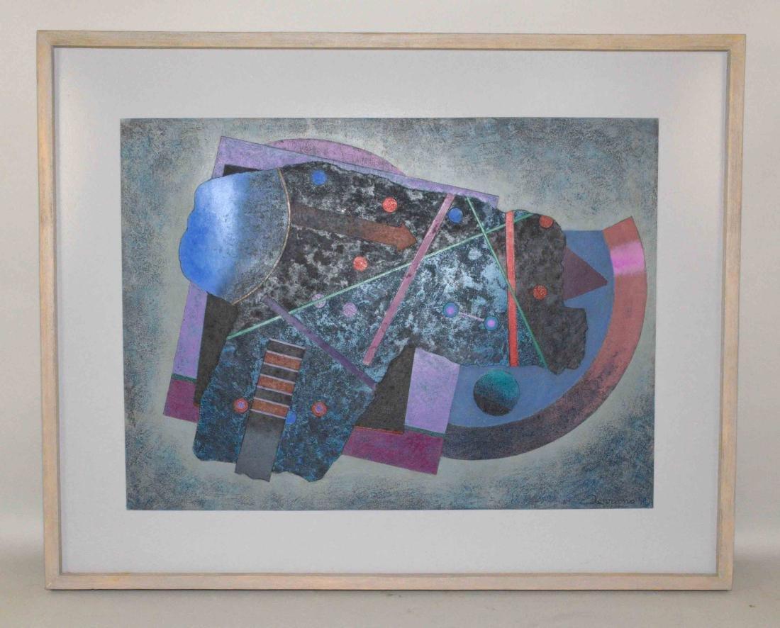 JOSE LUIS/SERRANO, silcography, ''Contrapunto de Signos