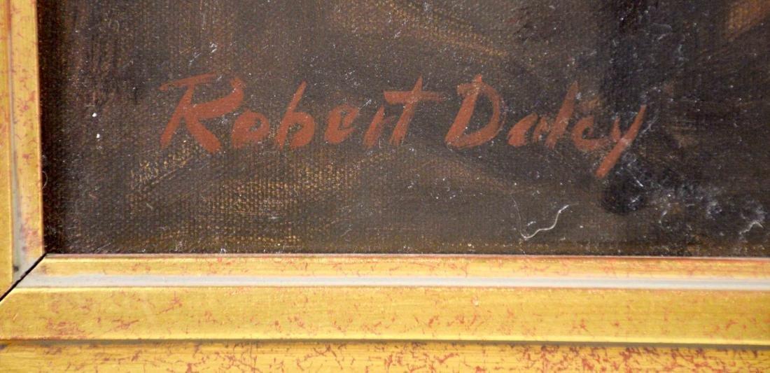 ROBERT DALEY, Brookline, PA artist. Portrait of Abraham - 3